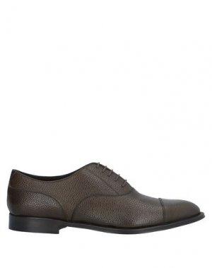 Обувь на шнурках CASTORI. Цвет: темно-зеленый