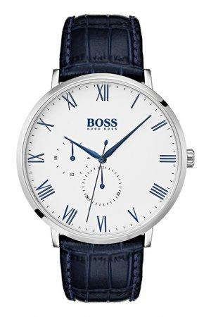 Наручные часы H.BOSS. Цвет: белый