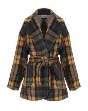 Пальто TRUE TRADITION. Цвет: темно-зеленый