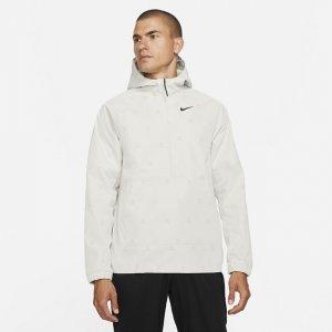 Мужская куртка-анорак для гольфа с принтом Repel - Серый Nike