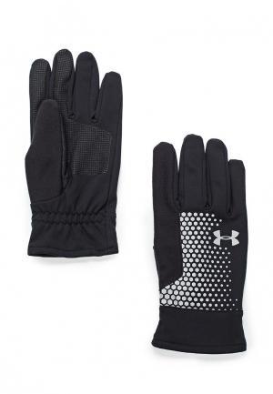 Перчатки Under Armour Mens Threadborne Run Glove. Цвет: черный