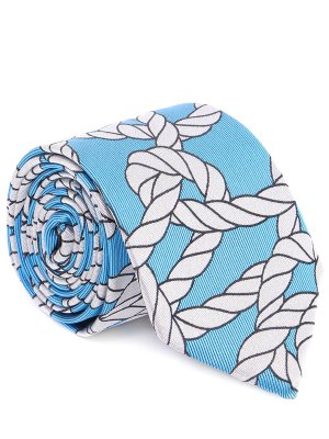Шелковый галстук с принтом Baldessarini. Цвет: разноцветный