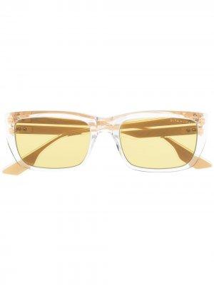 Солнцезащитные очки Alican в квадратной оправе Dita Eyewear. Цвет: нейтральные цвета