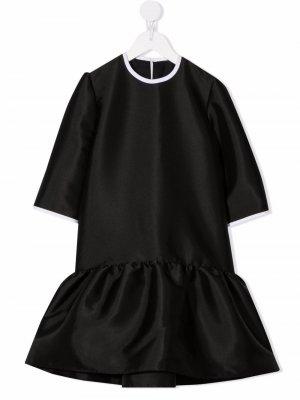 Flared T-shirt dress Señorita Lemoniez. Цвет: черный