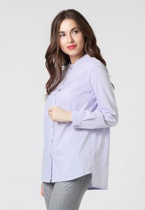 Рубашка Lova. Цвет: фиолетовый