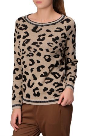 Пуловер MANODE. Цвет: beige, black