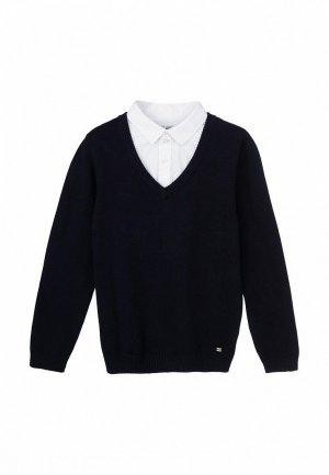 Пуловер PlayToday. Цвет: синий