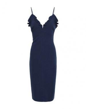 Платье до колена BLACK HALO. Цвет: темно-синий