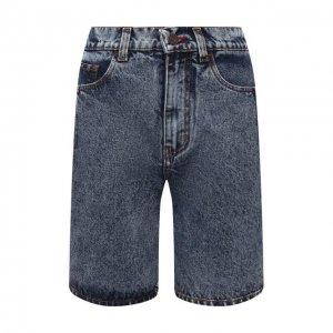 Джинсовые шорты BLCV. Цвет: синий