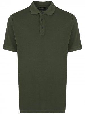 Рубашка поло с короткими рукавами Michael Kors. Цвет: зеленый
