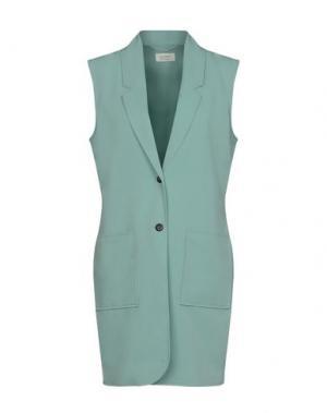 Пиджак NÜMPH. Цвет: светло-зеленый