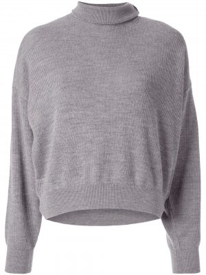 Turtle neck jumper Alexander Wang. Цвет: серый