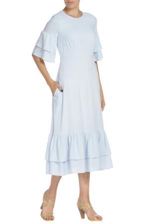 Платье Libellulas. Цвет: голубой