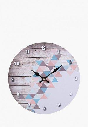Часы настенные Русские подарки. Цвет: разноцветный