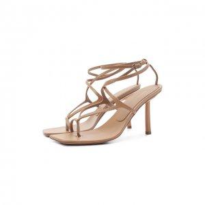 Кожаные босоножки Le Silla. Цвет: коричневый