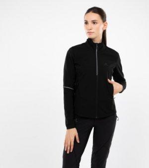 Куртка софтшелл женская , размер 40-42 Salomon. Цвет: черный