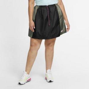 Юбка из тканого материала Nike Sportswear Icon Clash (большие размеры) - Черный