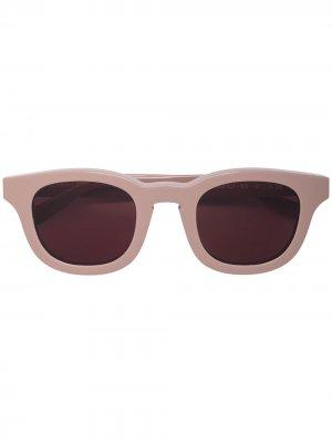 Солнцезащитные очки Monopoly в квадратной оправе Thierry Lasry. Цвет: коричневый