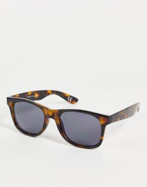 Солнцезащитные очки в черепаховой оправе Spicoli 4-Коричневый цвет Vans