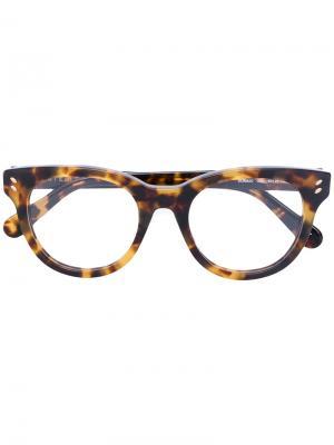 Cat eye glasses Stella McCartney. Цвет: коричневый