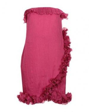 Короткое платье AQUILANO-RIMONDI. Цвет: пурпурный