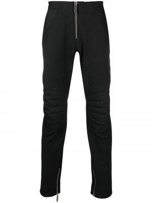 Байкерские брюки Just Cavalli. Цвет: черный