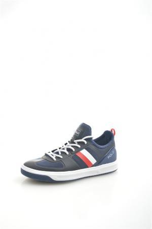 Кроссовки Polo Ralph Lauren. Цвет: темно-синий