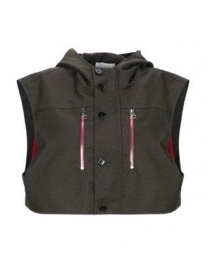 Куртка HAIKURE. Цвет: зеленый-милитари