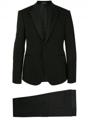 Вечерний костюм-двойка Emporio Armani. Цвет: черный