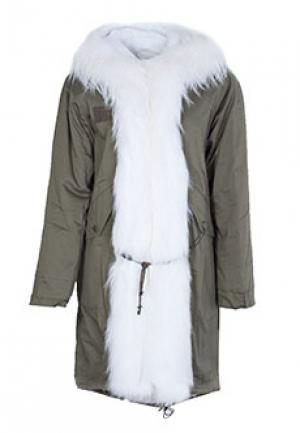 Куртка MDF. Цвет: белый