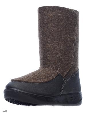 Валенки ШК обувь. Цвет: серо-коричневый, коричневый, серый