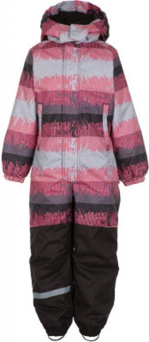 Комбинезон для девочек Siiko, размер 122 LASSIE. Цвет: розовый