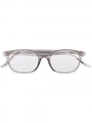 Teen square frame glasses Snob. Цвет: серый