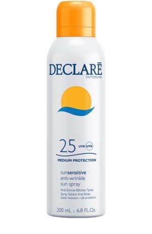 Солнцезащитный спрей с омолаживающим действием Anti-Wrinkle Sun Spray SPF 25 Declare. Цвет: бесцветный