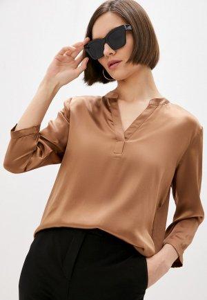 Блуза Gerard Darel. Цвет: коричневый
