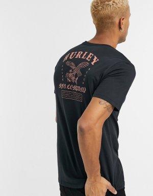 Черная футболка из трикотажа Dri-Fit -Черный Hurley