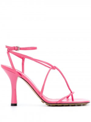 Босоножки Barely re Bottega Veneta. Цвет: розовый