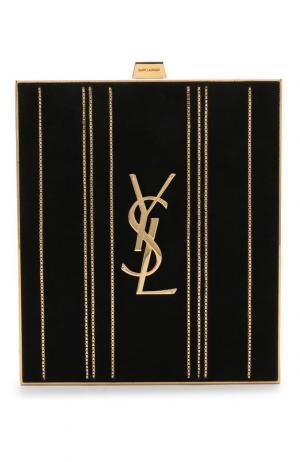 Сумка Tuxedo Box Saint Laurent. Цвет: золотой