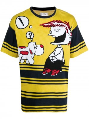 Футболка Mafalda 1980-х годов JC de Castelbajac Pre-Owned. Цвет: желтый