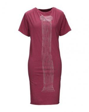 Платье до колена VIVIENNE WESTWOOD ANGLOMANIA. Цвет: красно-коричневый