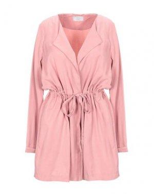 Легкое пальто NÜMPH. Цвет: пастельно-розовый