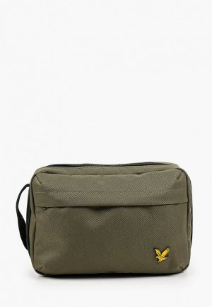 Несессер Lyle & Scott Washbag. Цвет: хаки