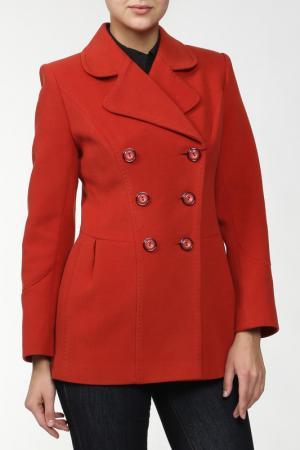 Пальто Exclusive. Цвет: коричневый