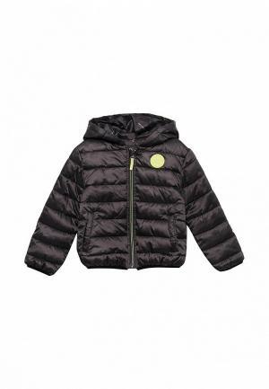 Куртка утепленная 3 Pommes PO013EBZRT83. Цвет: серый
