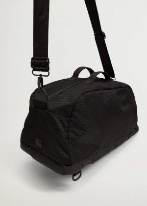 Спортивная сумка со множеством карманов - Bowling Mango. Цвет: черный