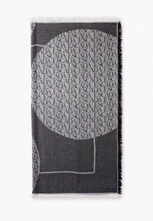 Платок Escada Sport. Цвет: серый