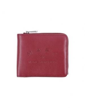 Бумажник MARC BY JACOBS. Цвет: пурпурный