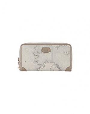 Бумажник ALVIERO MARTINI 1a CLASSE. Цвет: светло-серый