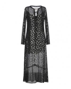 Длинное платье ..,MERCI. Цвет: черный