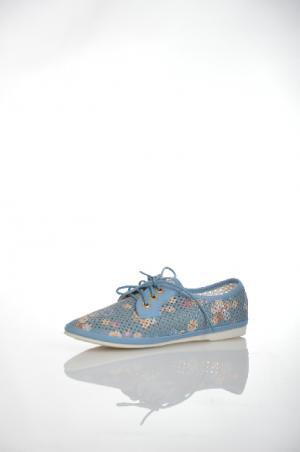 Ботинки Betsy. Цвет: синий